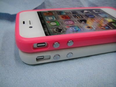 iPhone4/iPhone4s バンパーケース(カバー)4/4Sの違い