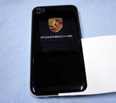 iPhone4/iPhone4s カバーステッカーの張り方