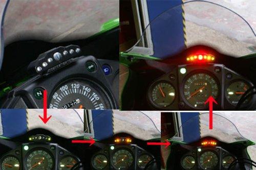 シフトランプ・シフトライト LT200 表示順