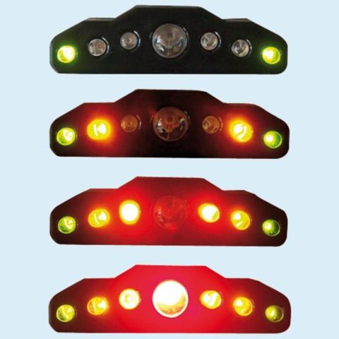 シフトランプ・シフトライト LT200 LED点灯