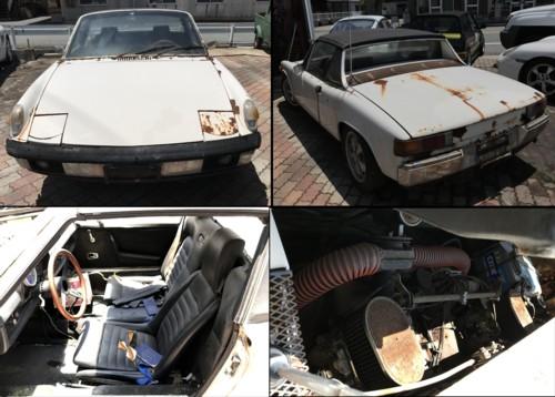 VWポルシェ 914 部品取車
