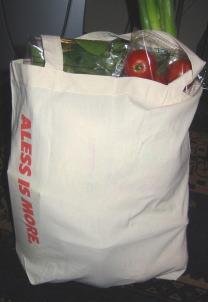アレッシお買い物Bagになる
