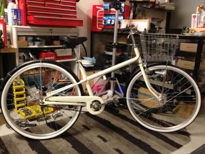 自転車の 自転車のカゴ取り付け : 無印良品中古自転車 | Rent a Bike ...