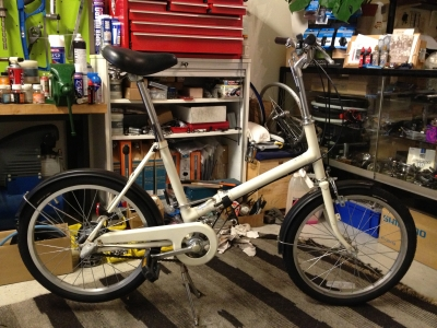 中古自転車出来てます。