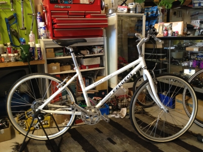 自転車の 自転車 中古 フレーム 注意 : PEUGEOT | Rent a Bike in Kyoto