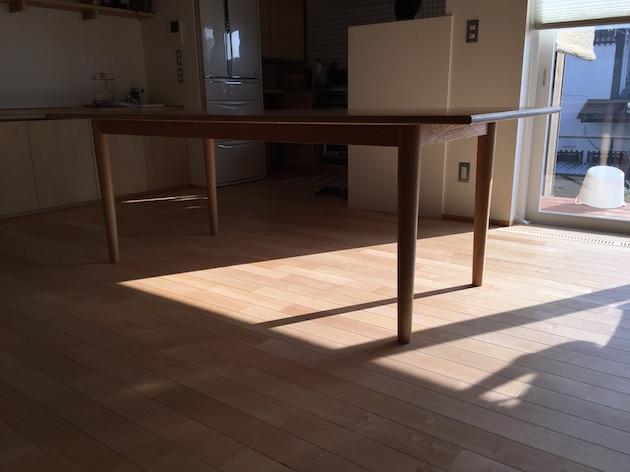 オークダイニングテーブル