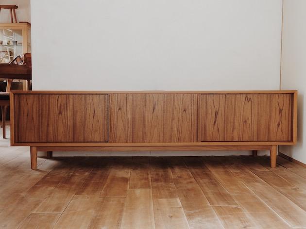 TVボード、チーク家具