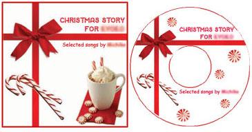 クリスマスにオリジナルcdを作る coffee break