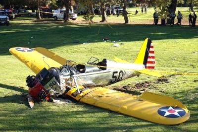 ハリソン・フォード飛行機事故