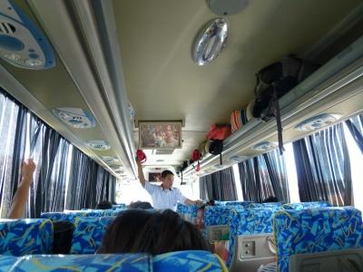 エアコン付きバス