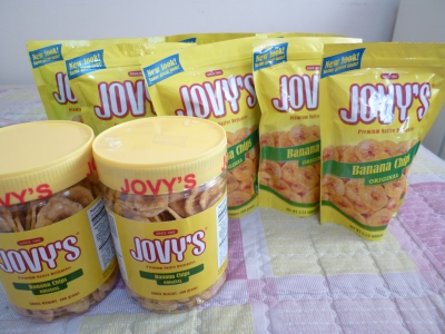 JOVYsのバナナチップス