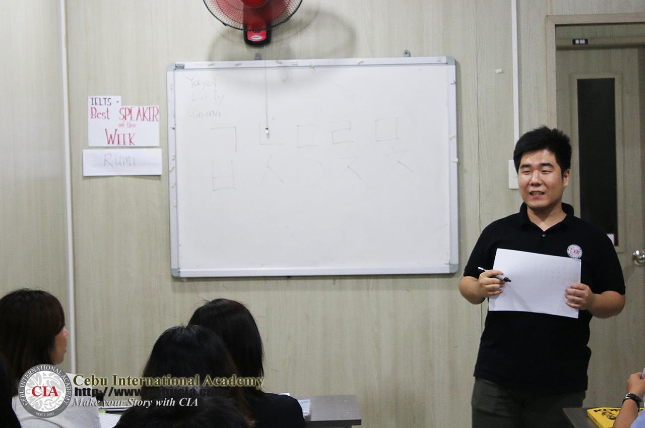 CIA韓国語クラス