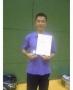 北海道社会人選手権大会 シングルスで準優勝!