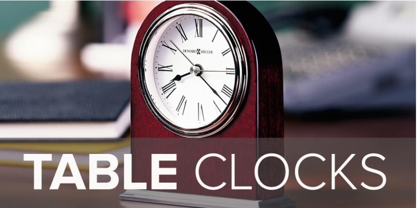 ハワードミラー置き時計