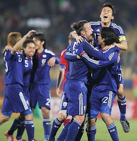 ワールドカップ日本決勝進出