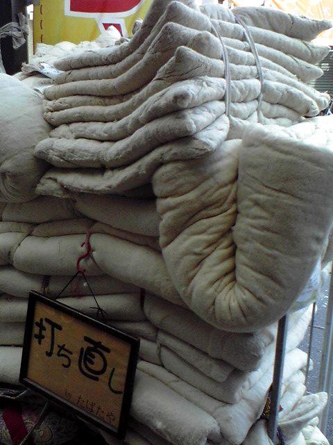 綿がいっぱい