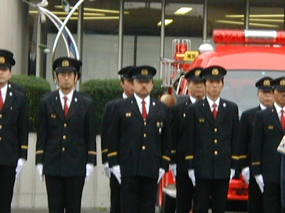 消防団表彰式