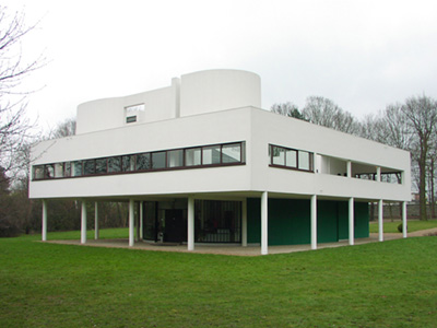 ル・コルビュジエ サヴォア邸