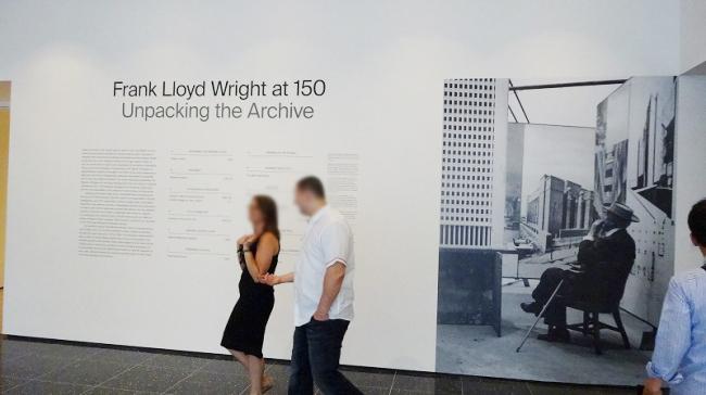 ニューヨーク近代美術館 ライト生誕150周年展
