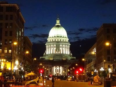 ウィスコンシン州会議事堂 Wisconsin State Capitol