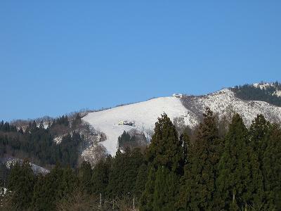 八海山麓スキー場のゲレンデ