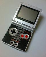 ゲームボーイアドバンスSP NESカラー-2