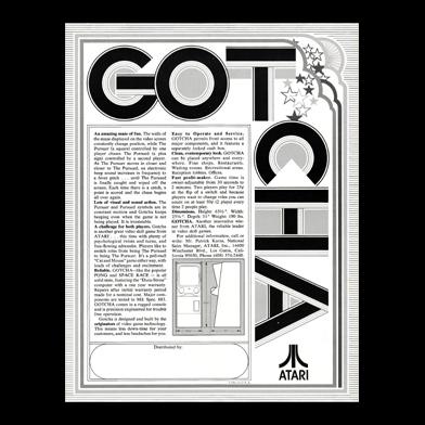 GOTCHA (1973) フライヤー-2