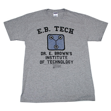 バック・トゥ・ザ・フューチャー E.B. TECH Tシャツ