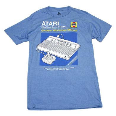 ATARI Haynesマニュアル Tシャツ-1