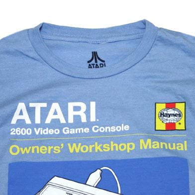 ATARI Haynesマニュアル Tシャツ-2