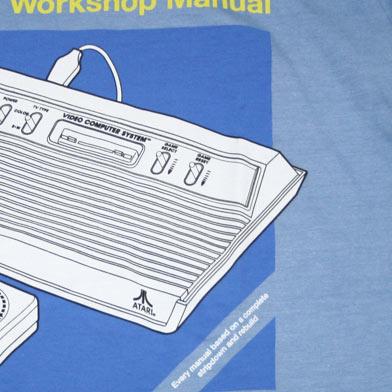 ATARI Haynesマニュアル Tシャツ-3