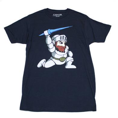CAPCOM 魔界村 アーサーTシャツ-1