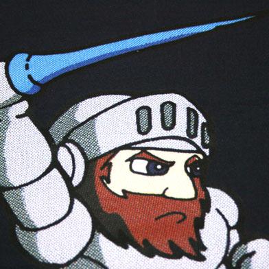 CAPCOM 魔界村 アーサーTシャツ-2