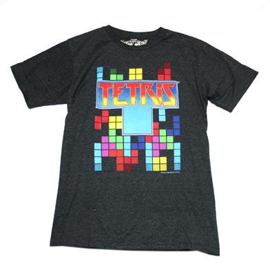 テトリス タイトルロゴ Tシャツ-1