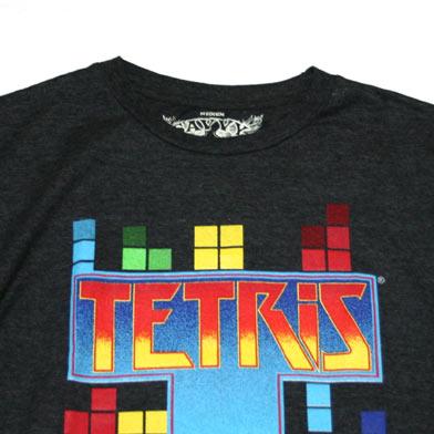 テトリス タイトルロゴ Tシャツ-2