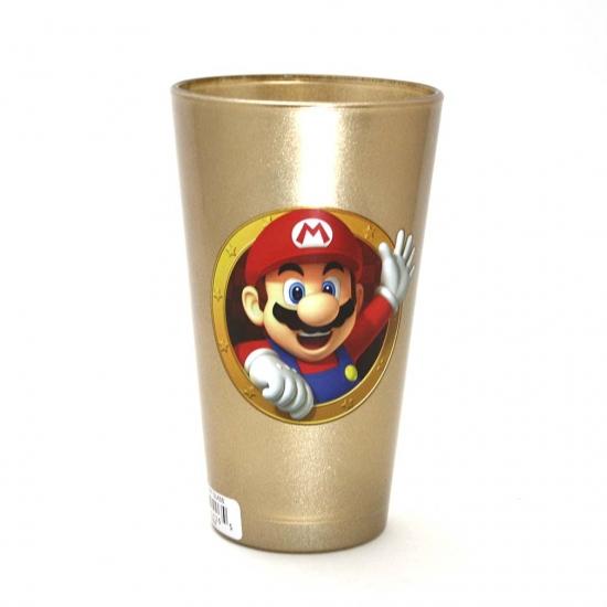 マリオ&ルイージ ゴールド グラス-1
