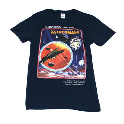 インテレビジョン AstrosmashTシャツ-1