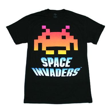スペース インベーダー グラデーションTシャツ