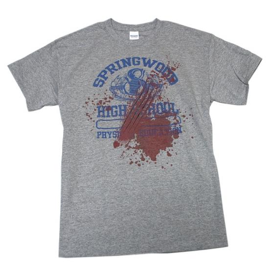 エルム街の悪夢 スプリングウッド Tシャツ-1