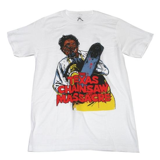 悪魔のいけにえ レザーフェイスTシャツ-1