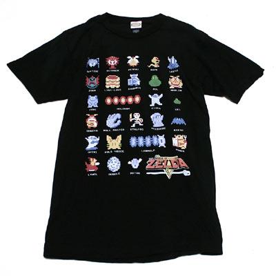 ゼルダの伝説 ピクセル敵キャラ Tシャツ
