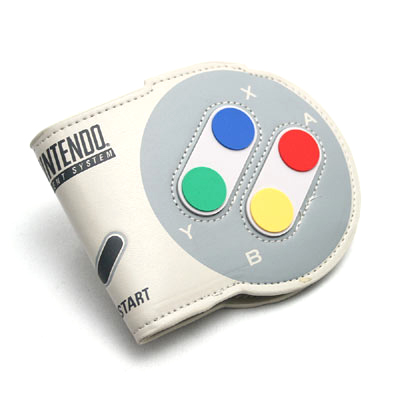 Nintendo スーパーファミコン コントローラー 二つ折りウォレット
