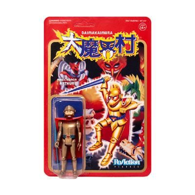 ReAction CAPCOM 大魔界村 アーサー3.75インチフィギュア(黄金の鎧)-1
