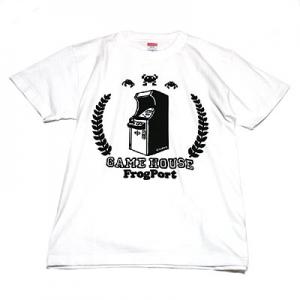 かせきさいだぁ アップライト筐体 Tシャツ-1