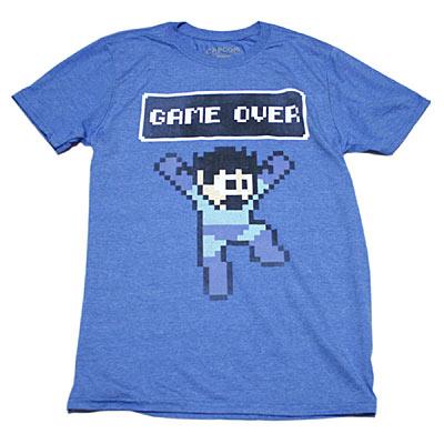 ロックマン GAME OVER Tシャツ