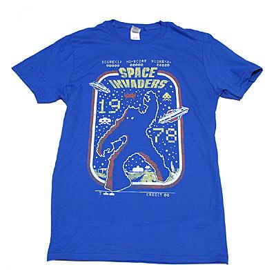 スペース インベーダー SPACE INVADERS1978 Tシャツ-1