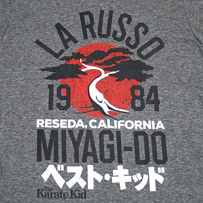 ベストキッド LA RUSSO1984 Tシャツ-2