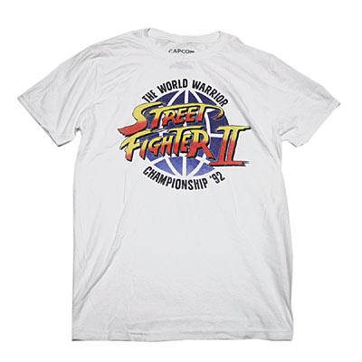 ストリートファイター2 CHAMPION SHIP 92 Tシャツ