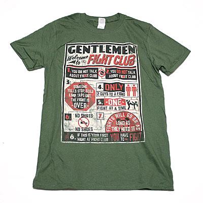 ファイトクラブ The Rules Tシャツ-1