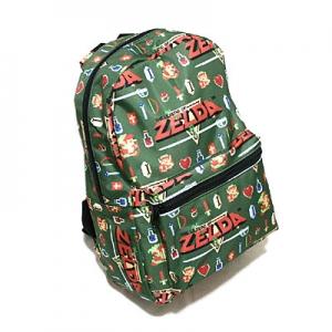 Nintendo ゼルダの伝説 総柄バックパック